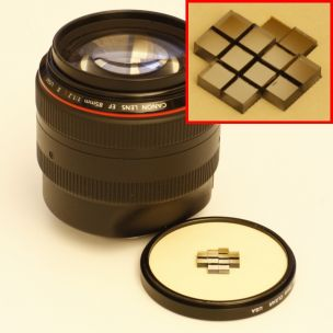 A new type of optimized plenoptic camera lens