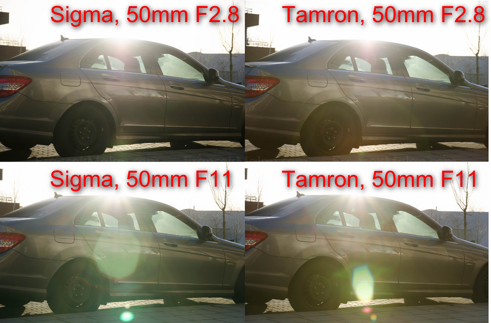 Review Sigma 17 50 F28 Os Vs Tamron Vc Francoismalan Sp 50mm F 28 Xr Di Ii Ld Aspherical If Canon Eos Flare